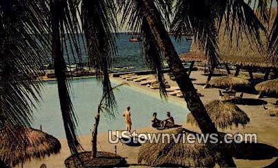 Kona Inn - Island of Hawaii Postcards, Hawaii HI Postcard