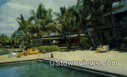 Kona Inn - Kailua, Hawaii HI Postcard