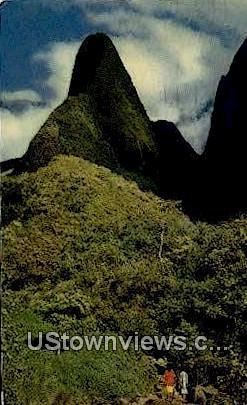 The Needle, Iao Valley - Maui, Hawaii HI Postcard