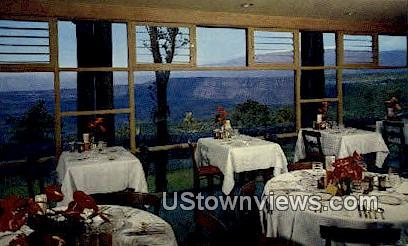 Dining Room, Volcano House - Hawaii Postcards, Hawaii HI Postcard