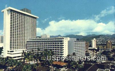Princess Kaiulani Hotel - Waikiki, Hawaii HI Postcard