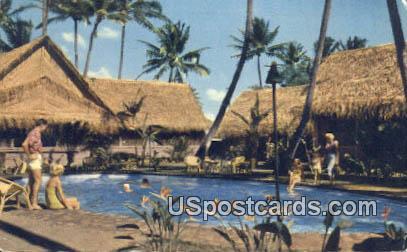 Hawaiian Village - Waikiki Postcard