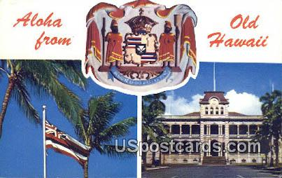 Old Hawaii, Hawaii Postcard      ;      Old Hawaii, HI - Old Hawaii Postcards