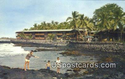 Waiaka Lodge - Kona, Hawaii HI Postcard