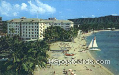 Moana Hotel - Waikiki, Hawaii HI Postcard