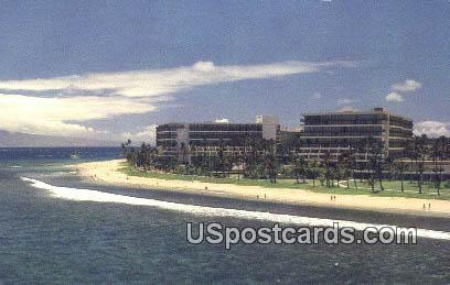 Maui Marriott Resort - Hawaii HI Postcard