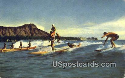Sport of Kings - Waikiki, Hawaii HI Postcard