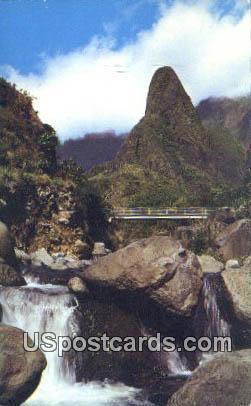 Ioa Needle - Maui, Hawaii HI Postcard