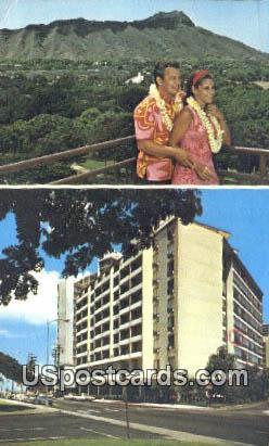 Waikiki Grand Hotel - Hawaii HI Postcard