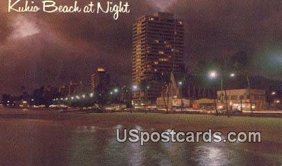 Kuhio Beach, Hawaii Postcard      ;      Kuhio Beach, HI