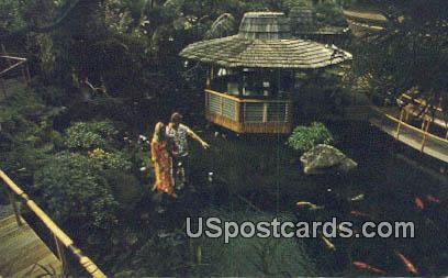 Pagoda Floating Restaurant - Waikiki, Hawaii HI Postcard