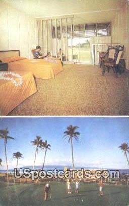 Kaanapali Beach Hotel - Maui, Hawaii HI Postcard