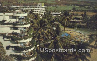 Sheraton Maui Hotel - Hawaii HI Postcard
