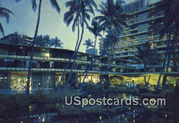 Hilton Hawaiian Village - Waikiki Postcard