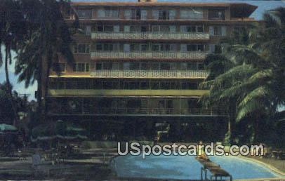 Edgewater Hotel - Waikiki, Hawaii HI Postcard