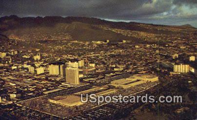 Ala Moana Center - Waikiki, Hawaii HI Postcard