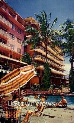 Egewater Hotel - Waikiki, Hawaii HI Postcard