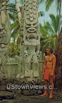 City Refuge National Historical Park - Waikiki, Hawaii HI Postcard