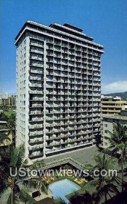 Waikiki Village Hotel - Hawaii HI Postcard