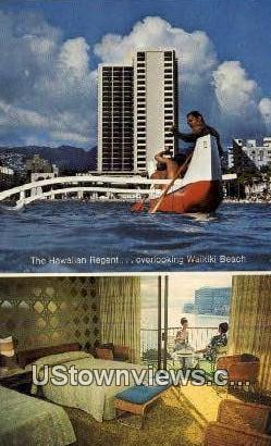 Hawaiian Regent - Waikiki Postcard
