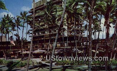 Hawaiian Village Hotel - Waikiki Postcard