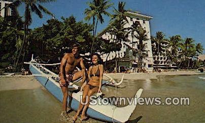 The Moana Hotel - Waikiki, Hawaii HI Postcard