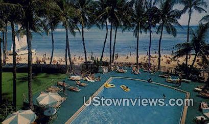 Outrigger East Hotel - Waikiki, Hawaii HI Postcard