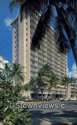 Waikiki Surf Hotel - Hawaii HI Postcard