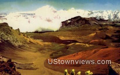 Haleakala National Park - Hawaiian Islands Postcards, Hawaii HI Postcard
