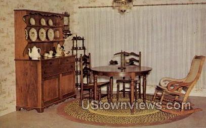 Furniture Shop - Amana, Iowa IA Postcard