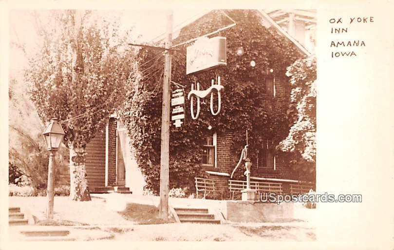 Ox Yoke Inn - Amana, Iowa IA Postcard