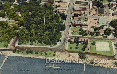 Airview of Clear Lake  - Iowa IA Postcard