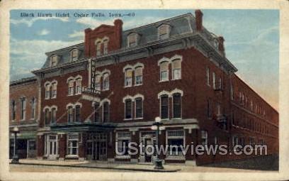 Black Hawk Hotel - Cedar Falls, Iowa IA Postcard