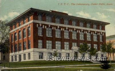 I.S.T.C., The Laboratory - Cedar Falls, Iowa IA Postcard