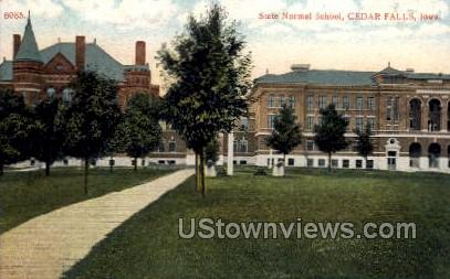 State Normal School - Cedar Falls, Iowa IA Postcard