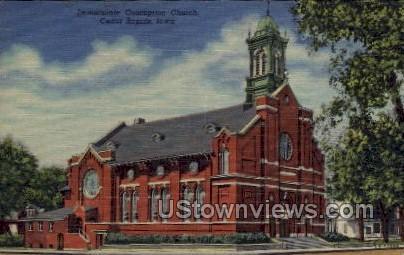 Immaculate Conception Church - Cedar Rapids, Iowa IA Postcard