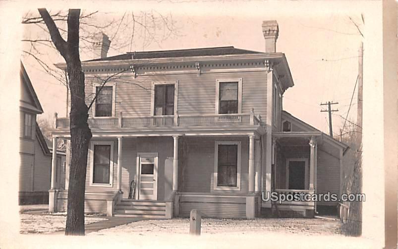 Residence - Council Bluffs, Iowa IA Postcard