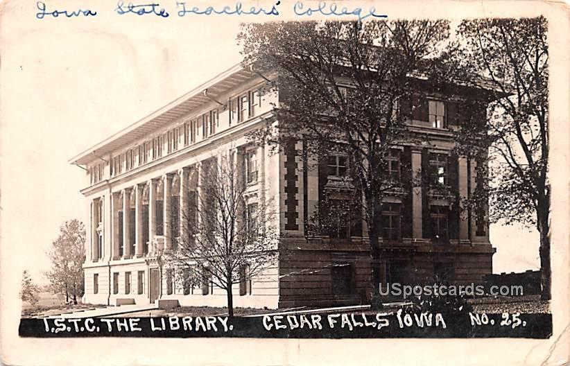 ISTC The Library - Cedar Falls, Iowa IA Postcard