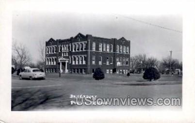 Davenport Public School - Iowa IA Postcard