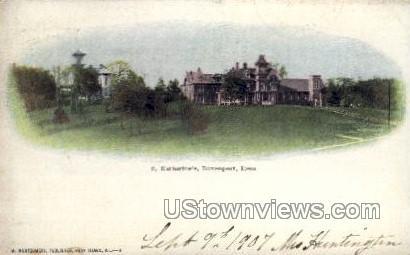 S. Katherine's - Davenport, Iowa IA Postcard