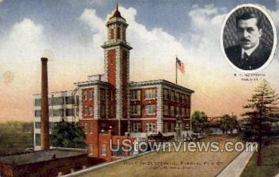 Home of Successful Farming Pub Co. - Des Moines, Iowa IA Postcard