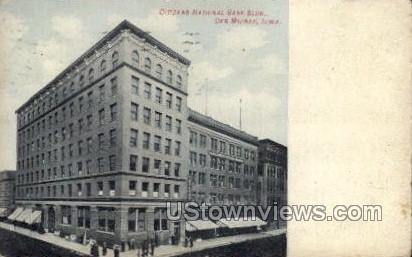 Citizens National Bank Bldg. - Des Moines, Iowa IA Postcard