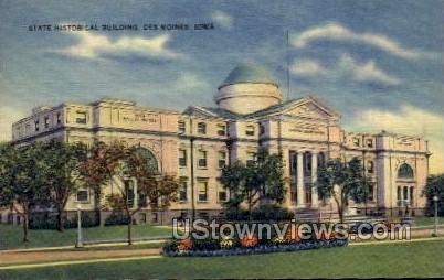 State Historical Building - Des Moines, Iowa IA Postcard
