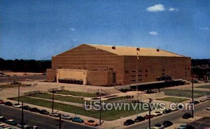 Veterans' Memorial Auditorium - Des Moines, Iowa IA Postcard
