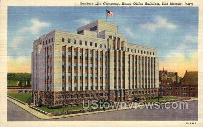 Banker's Life Company - Des Moines, Iowa IA Postcard