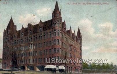 Victoria Motel - Des Moines, Iowa IA Postcard