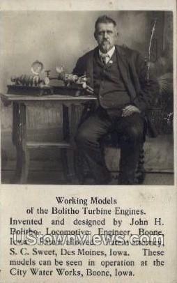 The Balitho Turbine Engines - Des Moines, Iowa IA Postcard