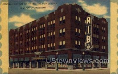 American Institute of Business - Des Moines, Iowa IA Postcard