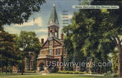 Drake University - Des Moines, Iowa IA Postcard