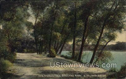 Birdland Park - Des Moines, Iowa IA Postcard
